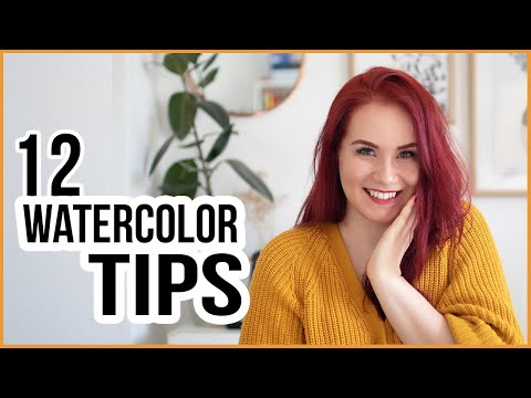 Top 12 Best Tips for Someone Who Has Never Used Watercolors or Wants to Start Over