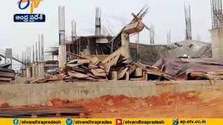 Building collapses in Bhubaneswar Airport ,one Killed..