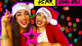 ASMR | How to get a boyfriend for the Holidays | THE CHONGA GIRLS