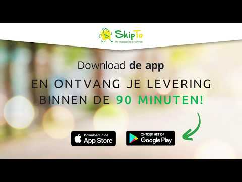 ShipTo levert alles van Carrefour binnen de 90 minuten!