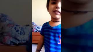 2 Year baby singing a song Jay Ganesh deva