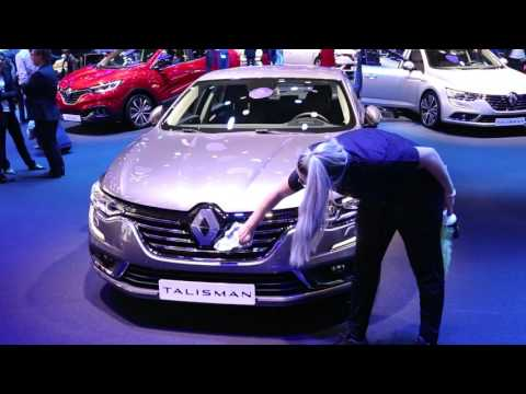 IAA2015 Frankfurt Motor Show : Backstage from the Renault stand