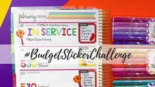 #BudgetStickerChallenge | Plan With Me | Myrtle Beach Week!