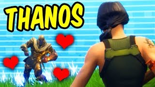 Thanos makes a friend in Fortnite Battle Royale