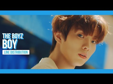 THE BOYZ - BOY Line Distribution (Color Coded) | 더보이즈 - 소년