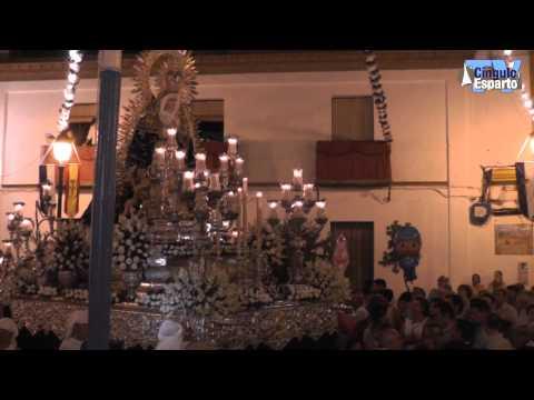 Procesión Santiago Apostol y la Virgen de las Angustias de Aznalcázar