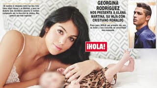 Georgina Rodríguez presenta muldialmente a Alana Martina