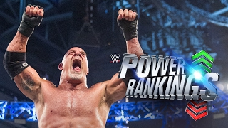 Goldberg plows his way up WWE Power Rankings: Feb. 2, 2017