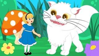 Alice au Pays des Merveilles    1 Conte + 4 comptines et chansons  - dessins animés en français