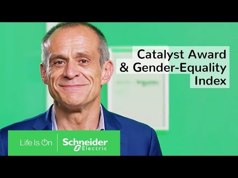 Jean-Pascal Tricoire on the Catalyst Award & Bloomberg Gender-Equality Index | Schneider Electric