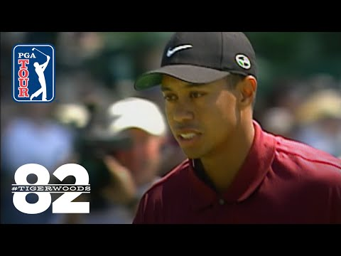 Tiger Woods wins THE PLAYERS Championship 2001 Chasing 82