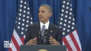 Watch President Obama's full national security speech from Tampa