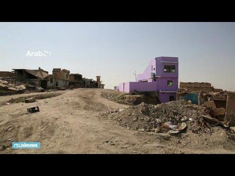 Kleurrijk huis is teken van hoop in verwoest Mosul - RTL NIEUWS