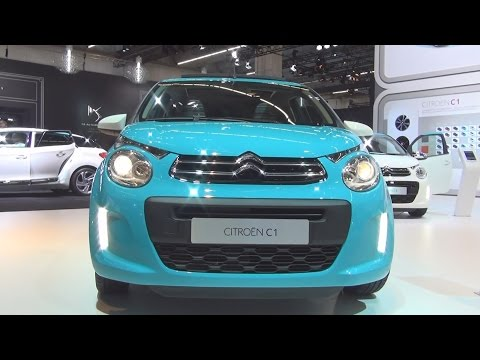 Citroën C1 PureTech 82 Airscape Feel Edition 5-Doors (2016) Exterior and Interior in 3D