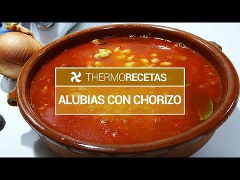Alubias con Chorizo | Receta Tradicional Fácil y Rápida