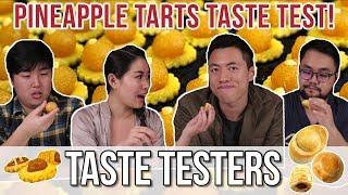 BEST PINEAPPLE TART IN SG | Taste Testers | EP 41