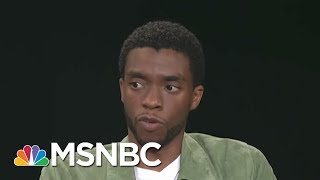 Chadwick Boseman Stars In Dynamic Thurgood Marshall Biopic 'Marshall' | AM Joy | MSNBC