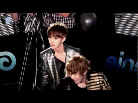 EXO-K SEHUN&CHANYEOL / 지니AR체험쇼 - 20120602