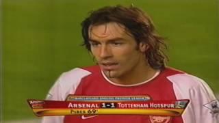 Arsenal vs Tottenham PL 2003/04 EXTENDED HIGHLIGHTS