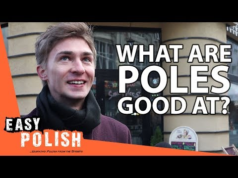 What Poles think they're good at | Easy Polish 124 photo
