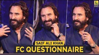 FC Questionnaire   Saif Ali Khan