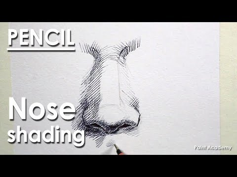 Pen and Ink Drawing : How to Shade A Nose