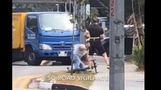 Bikers Rio pardo | Vídeos | Briga de trânsito: Caminhoneiro tenta agredir ciclista, mas é nocauteado
