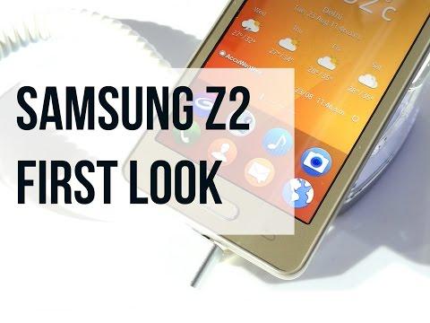 Samsung Z2 First Look  Digitin