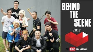 Behind The Scene Youtube Rewind Gaming 2017 #DailyVlogRina10
