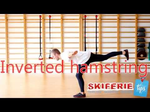 Skitræning - Øvelser til skiferie # 5 af 7 - Inverted hamstring - Skiferietips.dk