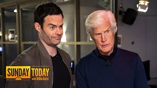 Watch Bill Hader Meet His Idol, Dateline's Keith Morrison, For The 1st Time | Sunday TODAY