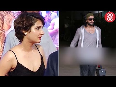 Fatima Does 'Thugs Of Hindostan Reading Sessions At Aamir's Home | Ranveer Spotted Outside A Club