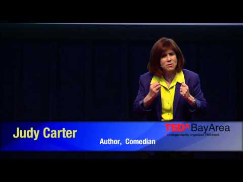 You can't spell message without a m-e-s-s: Judy Carter at ...