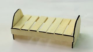 How to Make Popsicle Stick Dog House - Wooden Dog House at