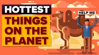 HOTTEST Recorded Temperatures On Earth (THINGS & PLACES)