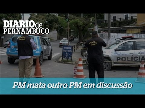 Policial mata outro em discuss�o