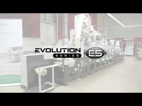 RFID label on Evolution E5