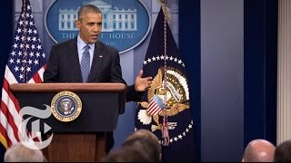 Watch Live: President Obama's Final News Conference