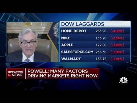Fed chair Jerome Powell on rising concerns: Inflation doesn't change on a dime