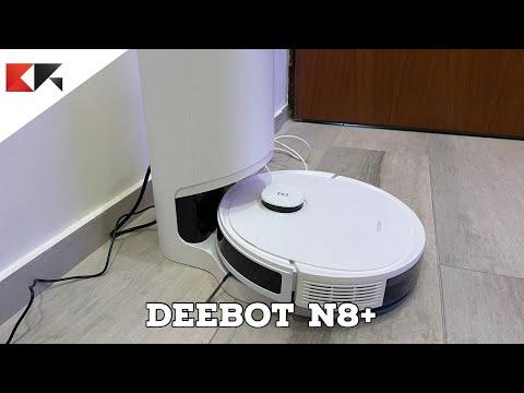 DEEBOT N8+: il robot aspirapolvere che s …