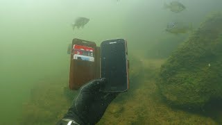 Found 10 iPhones, 2 GoPros, Gun and Knives Underwater in River! - Best River Treasure Finds of 2017