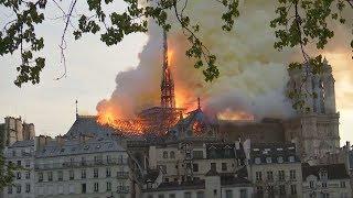 BRAND VON NOTRE-DAME: Pariser Feuerwehr hatte Sorge um die Türme