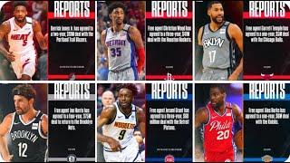 NBA Trades and Updates So Far! on Nov 20, 2020 [News via NBATV/Twitter]