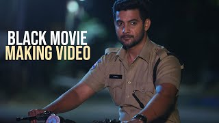 Aadi Sai Kumar turns powerful cop in 'Black' movie- Making..
