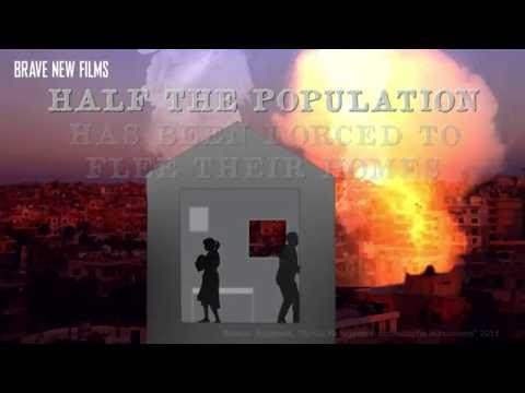 Forced To Leave Their Homes  - World Refugee Day • BRAVE NEW FILMS