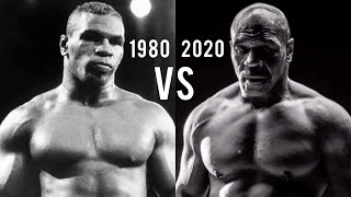 Mike Tyson 1980s vs 2020s Training Comparison 40 years later (Motivation)