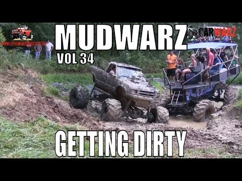 MUDWARZ - GETTING DIRTY VOL 34 - MUD BOG ACTION