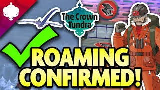 NEW INFO CONFIRMED!! ROAMING LEGENDS and MORE! Crown Tundra Update!