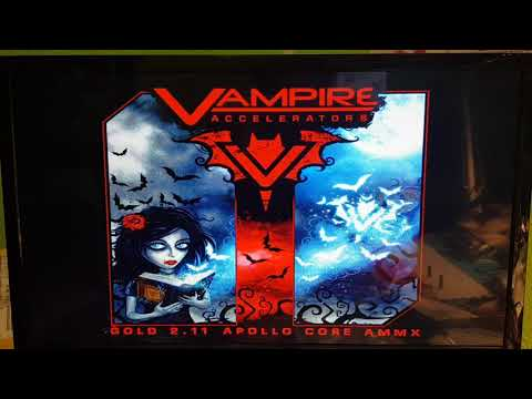 Ssd with Vampire on Amiga 500 up to 10 mb/s.