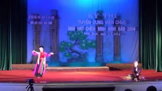 Thị màu lên chùa Lan Anh nhà hát chèo Ninh Bình